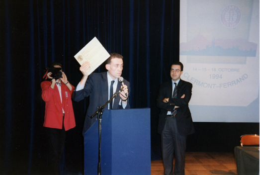Remise de charte 1994