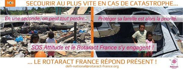 Le Rotaract France réagit pour l'Urgence aux Antilles !