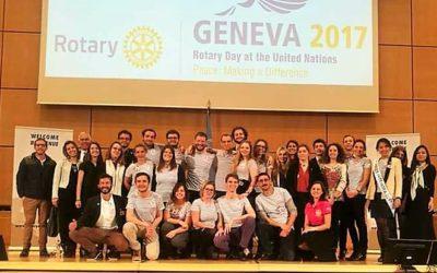 Le Rotaract France à L'ONU de Genève