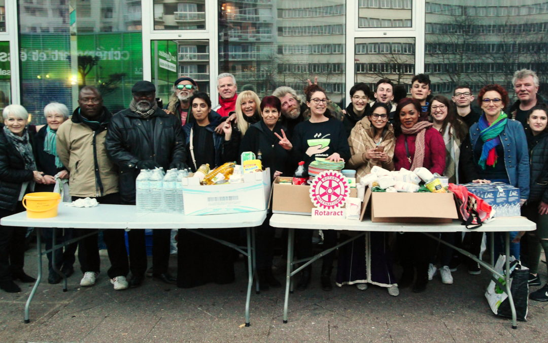 Rotaract'iveMans et l'ESN chantent contre la faim et l'isolement