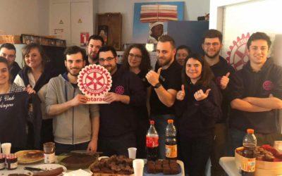 Le Rotaract David d'Angers et le Rotary club Baugé en Anjou fait son théâtre…