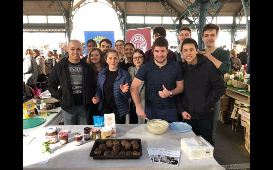 Gâteaux, bonne humeur, et premiers projets pour le rotaract de Meaux !
