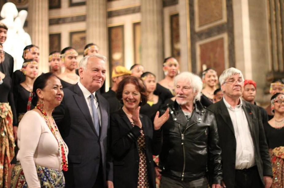 Le Rotaract Paris Ouest et Virlanie Voices à l'Eglise de la Madeleine