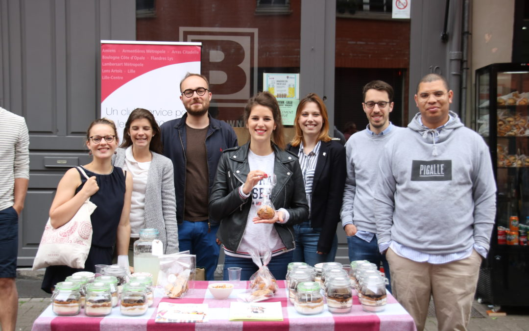 Action Braderie du Vieux Lille – Rotaract Lille